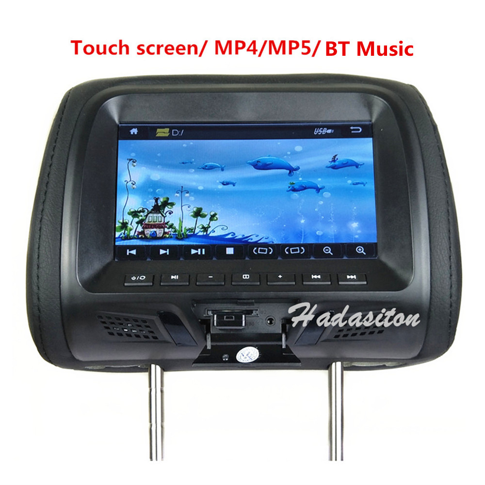 Monitor Mp5-Player Car-Headrest Touch-Screen Universal 7-MP4 Support Usb/sd/fm-/.. 1024--600