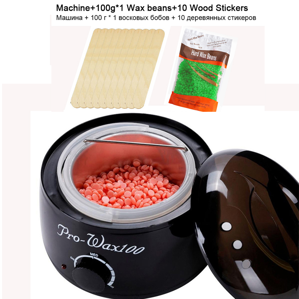 Wax Heater Wax-melt Machine Heater Wax Bean Hair Removal Depilation Paraffin Mini Hand Epilator Foot