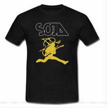 Novo soja concert camisa masculina roupas tamanho S-2XL-4XL-5XL ao ar livre wear topos camiseta