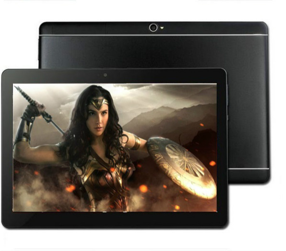 YAHU Free Shipping 10 Inch Tablet PC Android 8.0 Quad Core 6GB RAM 128GB ROM 5.0MP 1280*800 IPS 4G Tablet 10.1