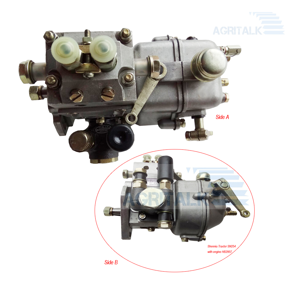Fuel Injection Pump (with No Connecting Coupler) For Shenniu Bison Tractor SN250 / SN254 With Engine HB295T