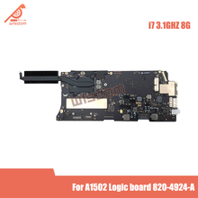 Placa base para Macbook Pro, placa lógica 820-4924-A A1502, i7, 3,1 GHz, 8GB, Retina, 13 \