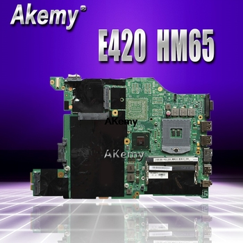E420 motherboard For Lenovo E420 laptop motherboard DDR3 HM65 PGA-988B mainboard free shipping