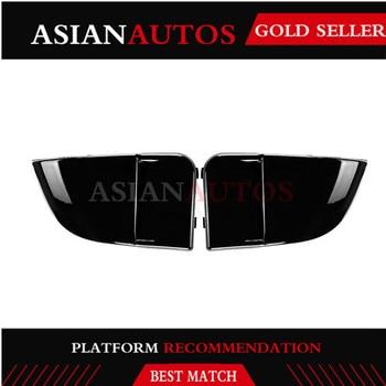 2PCS/Set PU Black Front Fog Light Side Bumper Cover Lamp Trim for Subaru Impreza STI WRX 2004-2005 Car Tuning Parts