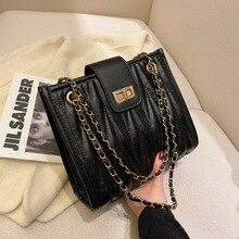 Autumn Winter Chain Bag Women's Bag 2021 New Fashion Net Red Versatile Single Shoulder Messenger Bag Armpit Bag