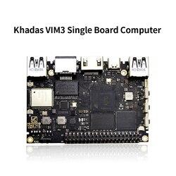 Khadas vim3 sbc Amlogic A311D SoC поддержка Linux Ubuntu Debian Android с 5,0 топами NPU одноплатный компьютер