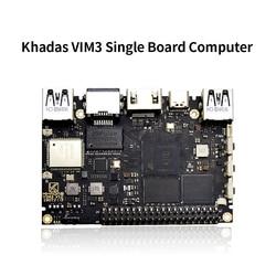 Khadas vim3 sbc Amlogic A311D SoC compatible con Linux Ubuntu Android con 5,0 TOPS NPU ordenador de una sola placa