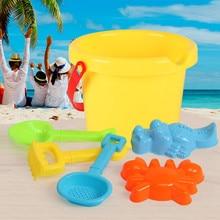 6шт/комплект очень маленький пляж игрушки воды младенца пинцет инструменты ведро дноуглубительные лопатой летний пляж играть игрушки для детей до 2020 года