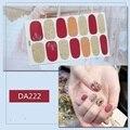 Hyun A Nail Paste Nail Paste Girl Nail Paste 14 Paste All Paste Gradient Bronze Nail Paste Bride Makup Nail PasteWaterproof Hand