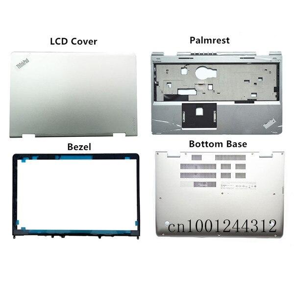 New  00JT306 AM16V000310 for Lenovo Thinkpad S5 Yoga 15 Top LCD Back Cover Black