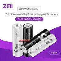 2019 Original Xiaomi ZMI ZI5 KTV Bateria Recarregável 1800mAh 1.2V Ni-MH bateria  bateria do controle remoto