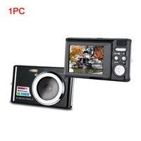 C4 Zoom Anti Shake Mini Digital Camera Face Detection LCD Display Clear Travel Portable Gift Ultra Thin COMS Sensor HD Birthday