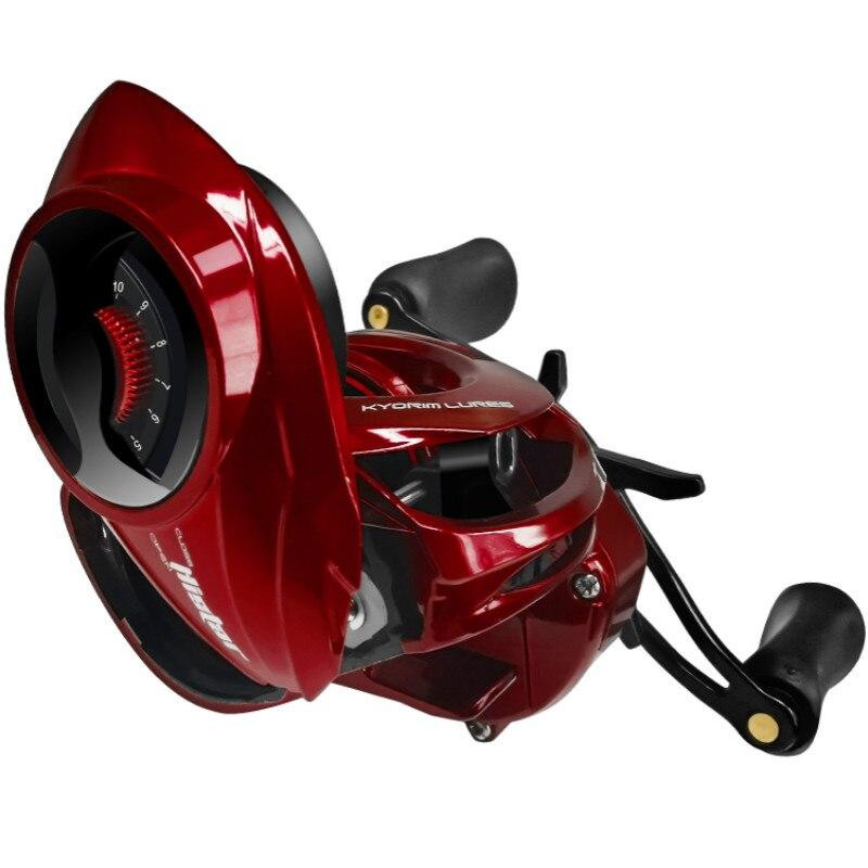Baitcasting moulinet Peche haute vitesse 8.1: 1 rapport De vitesse 18 + 1BB système De frein magnétique eau douce/eau salée roue De pêche Carrete De Pesca
