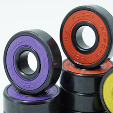 Wheel-Bearing Skateboard Inline-Roller 2RS 608 608RS Anti-Rust Red Sealed-8x22x7-Mm-Shaft
