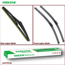 цена на Front And Rear Wiper Blades For Opel Astra J  2009-2015 Windshield wiper Windscreen Car Accessories 27+25+12K