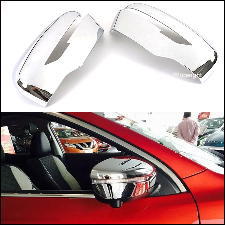 Chrome Rearview Side Mirrors Cover trim for 2015-2017 KIA SORENTO Mirror Trim
