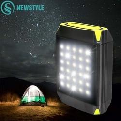 Flasher Мобильный Внешний аккумулятор, флэш-светильник, USB порт, Кемпинговый тент, светильник, наружный порт, Подвесная лампа с питанием от солн...