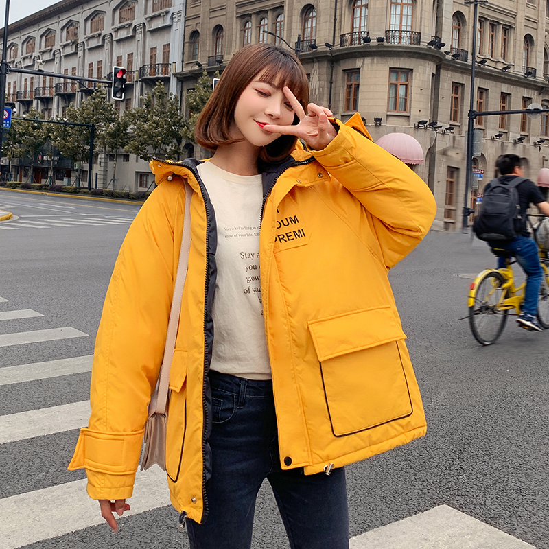 2019 Hoodies   Parka   Mujer Winter Women Coat Thick Down Cotton Padded Hooded Jacket Plus Size 2xl Long   Parkas   Women Overcoat