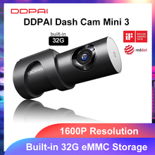 DDPAI Dash Cam Mini 3 1600P HD Dvr Auto Kamera Mini3 Auto Stick Fahrzeug Video Recroder 2K Android wifi Smart 24H Parkplatz Kamera