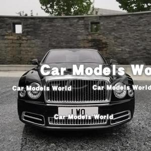 Image 2 - Литая модель автомобиля, почти настоящая Mu lsanne W.O. Издание Mulliner 1:18 + маленький подарок!