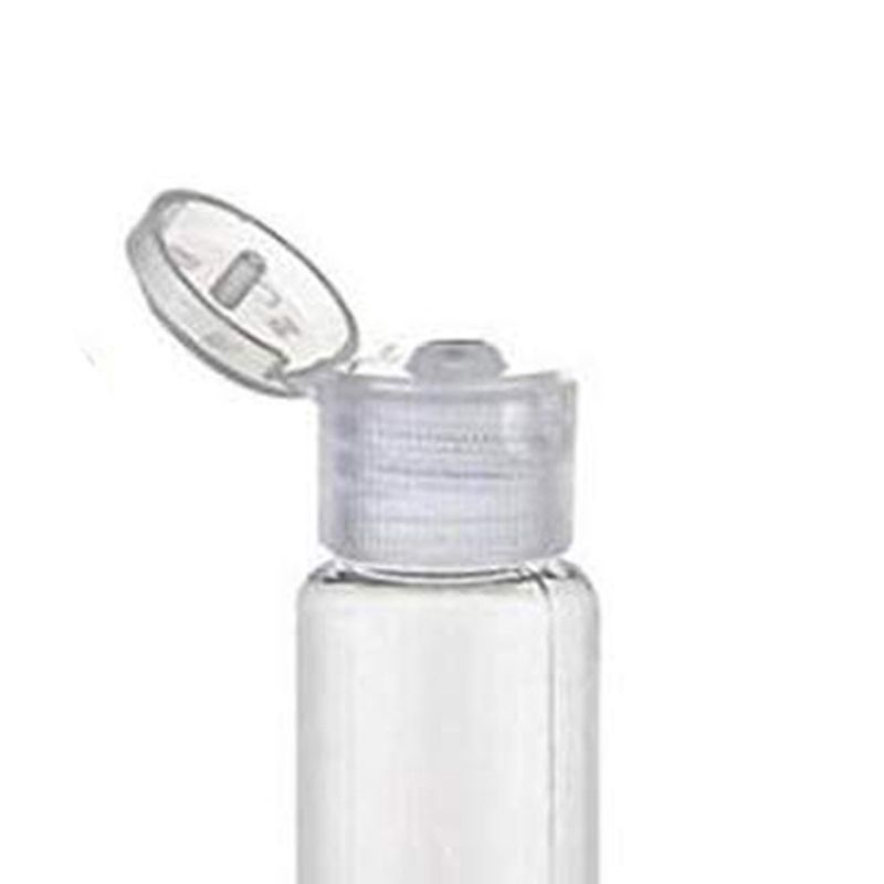 1000Pcs 10/30/50/60/100 Ml Empty Transparent Plastic Pack Clamshell Water Bottle Packaging Containers  With Clear Flip Top Cap