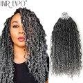 14-18 дюймов, косички богини Locs, натуральные синтетические волосы для наращивания, для женщин, новый стиль, 24 стойки/упаковка, волосы, экспо-гор...
