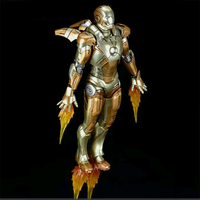 1/12 Scale Alloy Iron Man Action figure Iron Man MARK XXI MK21 Movable Diecast Figure Doll Model for gift Collection fans