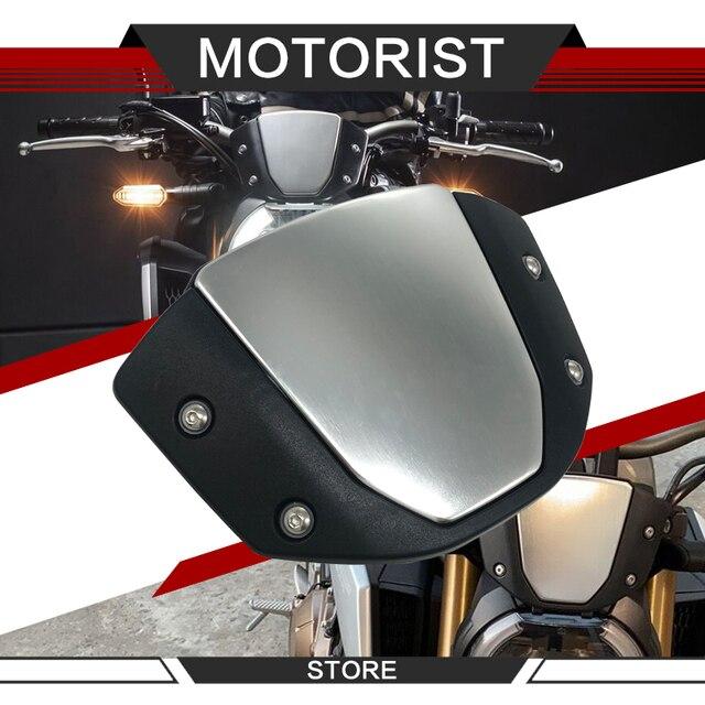 Deflector de viento para parabrisas de motocicleta cb1000r CB 1000R 2018 2019 negro para cb650r 2019-20 CB 650R cubierta windsheild