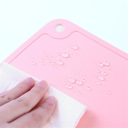 NEW Silicone Waterproof Placemat Table Mat Heat Insulation Anti-skidding Washable Durable For Kitchen Dining 50*30CM