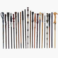 28 Kinds of Potters Magic Wands Cosplay Harried Dumbledore Voldmort Snape Metal/Iron Core Magic Wand without Box Christmas Gift