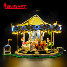 BriksMax Led Light Kit for Creator Expert The New Carousel Light Set Compatible with Model 10257 (NOT Include Model) цена 2017