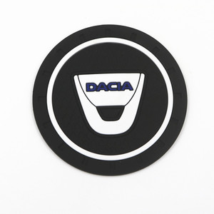 Image 5 - Tapis antidérapant porte bouteille, 2 pièces, pour voiture, tapis antidérapant, pour Dacia Lodgy 2 Mcv Sandero Duster Logan SanderoCar
