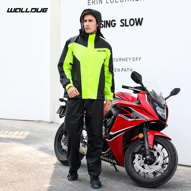 Adults Men Coat Motorcycle Raincoat Rain Pants Suit Rain Coat Men Waterproof Trench Coat Men Rainwear Thin Light Jacket Gift 5