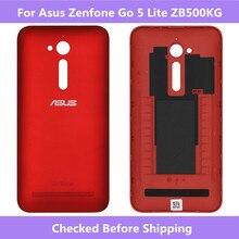 آسوس ZB500KG البطارية الإسكان غطاء الباب الخلفي جراب إيسوز Zenfone الذهاب 5 لايت ZB500KG الإسكان غطاء علبة ل Zenfone ZB500KG