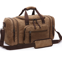 Männer Hand Tasche Große Kapazität Gepäck Reise Duffle Taschen Leinwand Reisetaschen Wochenende Schulter Taschen Multifunktions Outdoor Seesack
