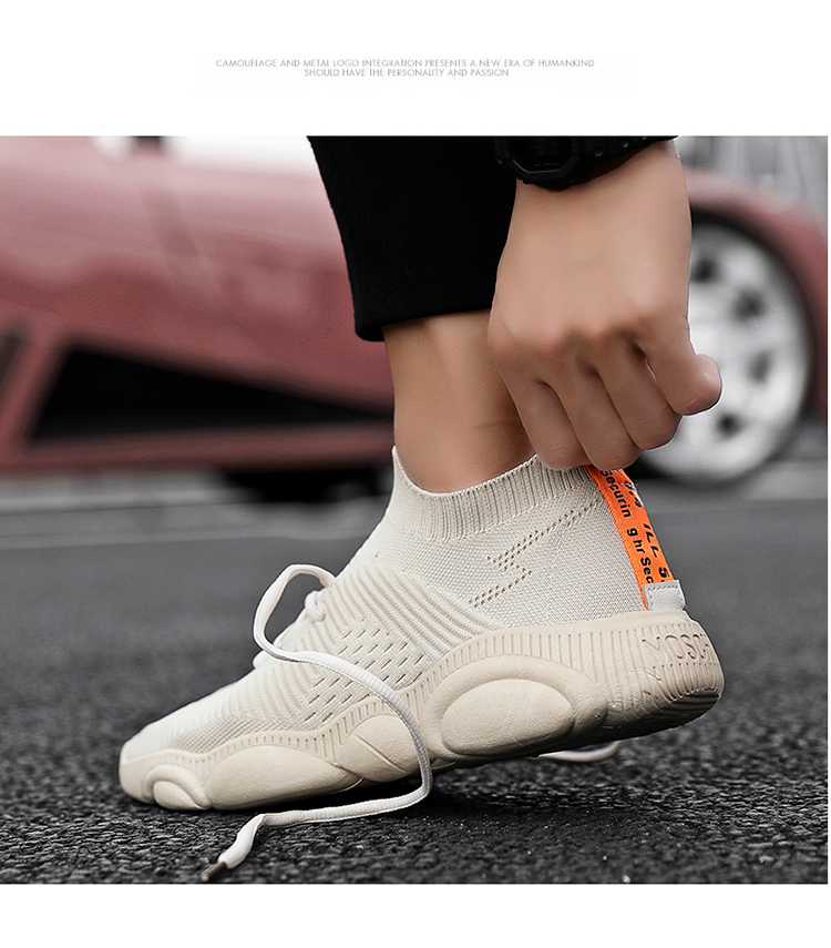 Hot Sale Bear Sole Breathable Lace-Up Outdoor Walking Shoes
