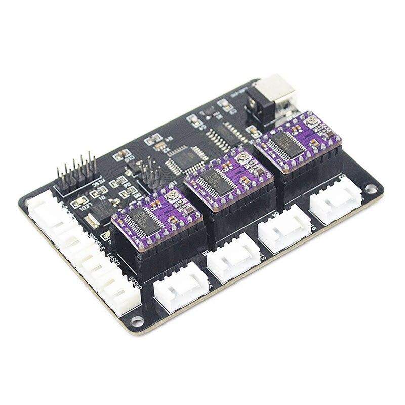 Лазерная/ЧПУ гравировальная машина управления, щит с ЧПУ, GRBL 1,1, USB порт, 3 оси управления, автономный контроллер