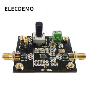 ADL5330 Module Wideband Voltage Variable Gain Amplifier Module 20dB Gain High Linear Output Power Function demo Board ultra wideband rf amplifier hf amplifier linear amplifier 1mhz to 130mhz 6w 43db