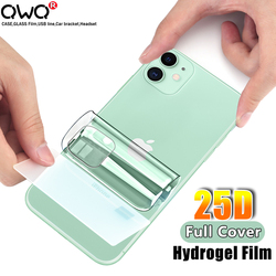 25D Back Protection Hydrogel Film For Apple iPhone 11 Pro XR XS Max Screen Protector For iPhone 6 6S 7 8 Plus SE 2020 Not Glass