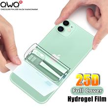 25D ochrona pleców hydrożel Film dla Apple iPhone 11 Pro XR 10 XS Max folia na wyświetlacz dla iPhone 6 6S 7 8 Plus SE 2020 nie szkło tanie tanio CN (pochodzenie) Powrót film Iphone 6 plus IPhone 6 s Iphone 6 s plus IPHONE 7 IPHONE 7 PLUS IPhone SE IPHONE 8 PLUS IPHONE X