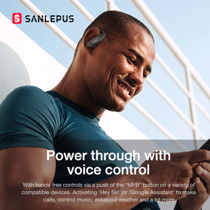 Image 5 - SANLEPUS B1 Display A Led Auricolare Bluetooth Cuffie Senza Fili TWS Stereo Auricolari Sport Gaming Auricolare Per Xiaomi Huawei iPhone