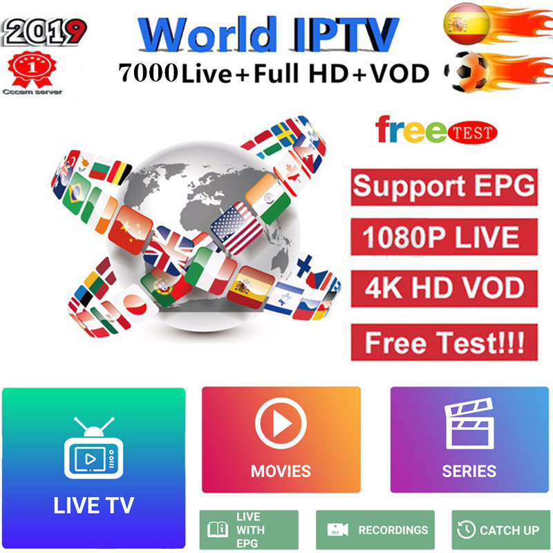Best Sstable IPTV M3u Subscription Iptv Italy German French Poland Romani Subscription Android Box M3u Enigma2 Smart TV PC Linux