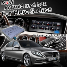 Android/Carplay Interface Box Voor Mercedes Benz S Klasse 2012-2017 Gps Navigatie Video Interface Box Comand Door lsailt