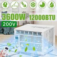 Aire acondicionado de escritorio de 3600W  temporizador de AC220-240V24-hour  uso en frío con control remoto  panel de control LED  12000BTU  aire acondicionado para mascotas
