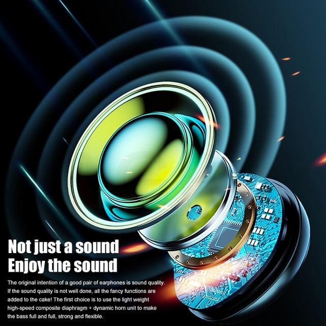TWS Bluetooth 5.0 Earphones 3500mAh Charging Box Wireless Headphone 9D Stereo Sports Waterproof Earbuds Headsets With Microphone 4