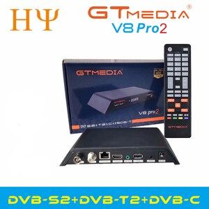 Image 3 - Gtmedia V8 Pro2 DVB S/S2/S2X,DVB + T/T2/כבל (J83.A/B/C)/ISDBT bulit WIFI תמיכה מלא PowerVu, דרה & מפתח ביס