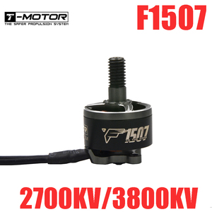 T-Motor F1507 2700KV/3800KV Brushless Motor for RC Drone FPV Racing(China)