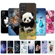 Чехол для Samsung A12, Мягкая силиконовая задняя крышка из ТПУ для телефона Samsung Galaxy A12 GalaxyA12 A 12 SM-A125F a125, бампер 6,5 дюйма, панда