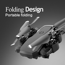 LF609 Mini RC Foldable drone With 4K HD Camera Wifi FPV Selfie Helicopter Altitude Hold Quadcopter Profesional Drones Kids Toys jjr c jjrc t49 sol ultrathin wifi 720p camera fpv selfie drone auto foldable arm altitude hold rc quadcopter vs h37 h47 e57
