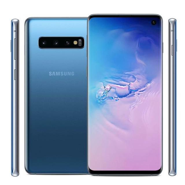 "Samsung Galaxy S10 G9730 Dual sim 8GB RAM 128GB ROM 6.1"" Octa Core Snapdragon 855 NFC LTE Original Unlocked Mobile Phone 5"